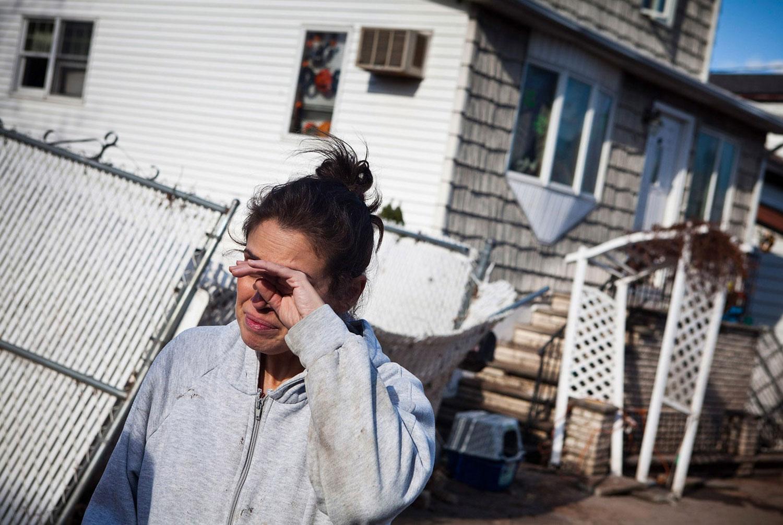 последствия урагана Сенди
