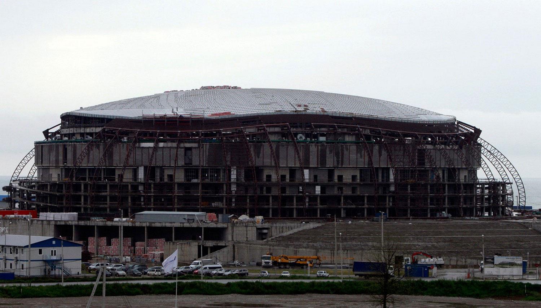 Большой ледовый дворец в Сочи, фото