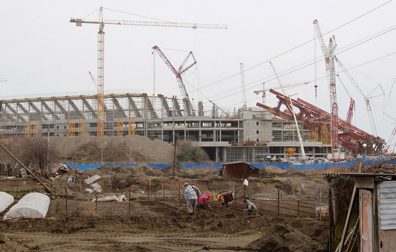 строительство для проведения олимпийских игр в Сочи, фото