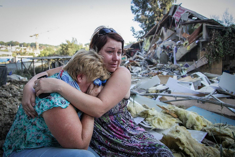 расстроенные местные жители Сочи, фото