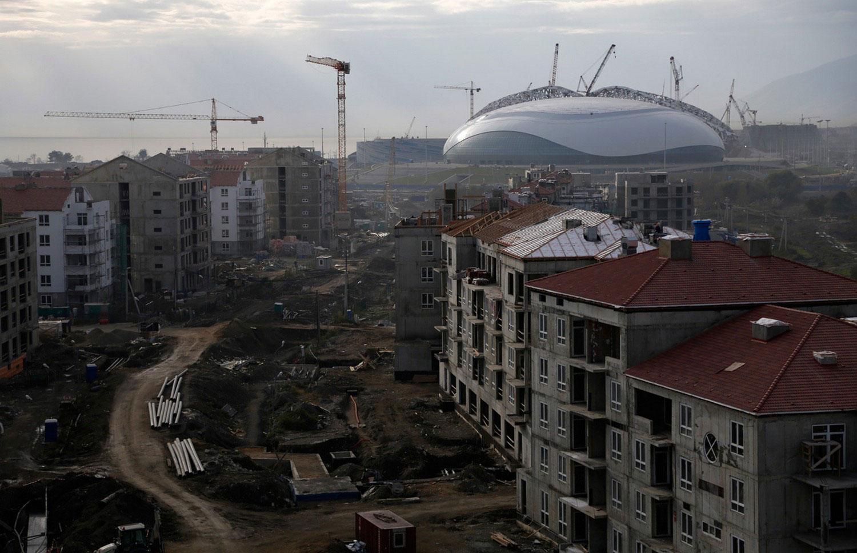 объекты спортивного комплекса олимпиады 2014