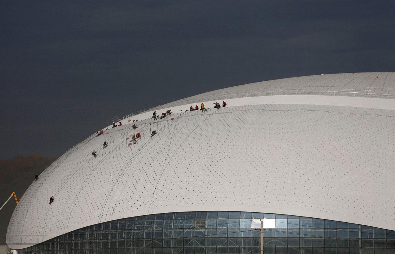 большая ледовая арена на олимпийских играх, фото