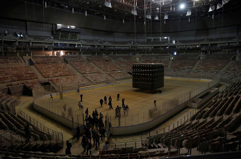 хоккейная арена в Сочи, фото