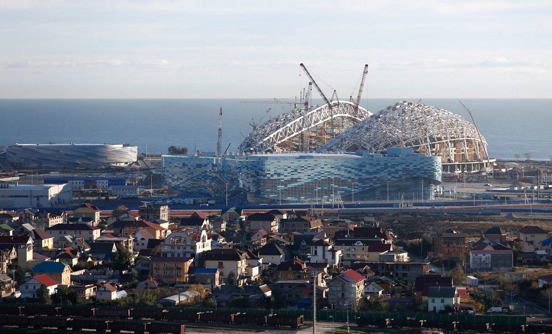 подготовка к открытию олимпиады в Сочи, фото
