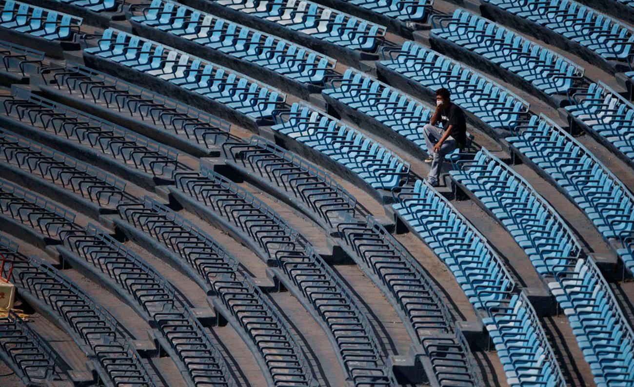 стадион закрыт из-за свиного гриппа