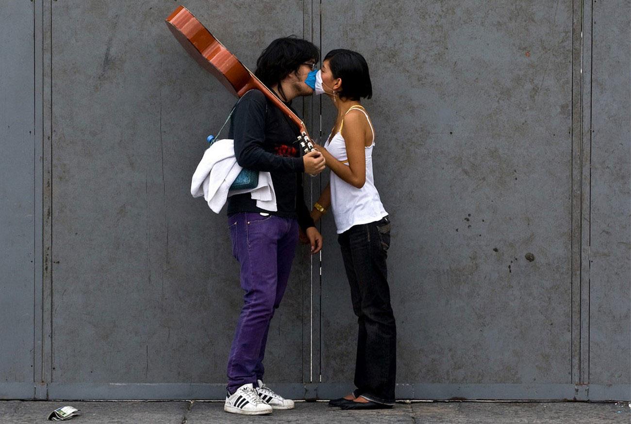 хирургические маски во избежании заражения гриппом