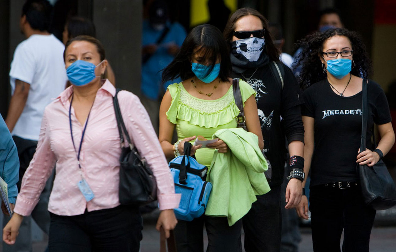 маски от заражения свиным гриппом