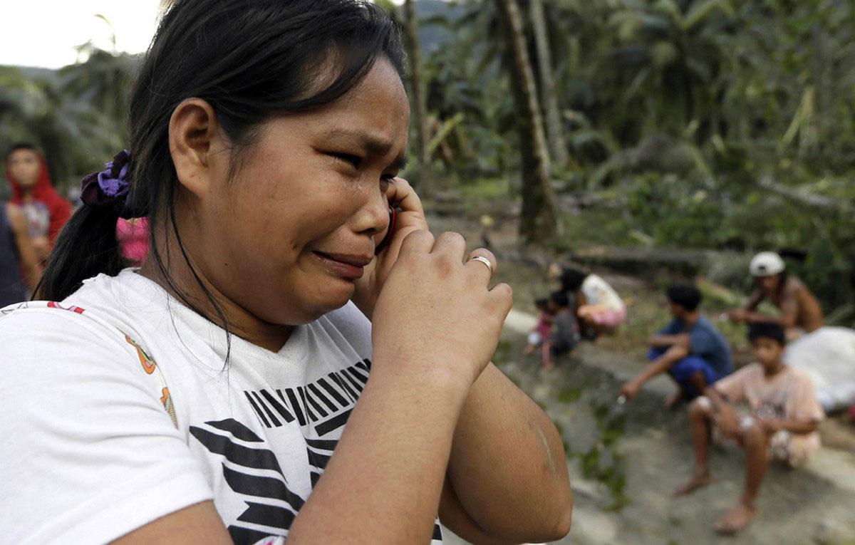 гибель родственников в наводнение после урагана
