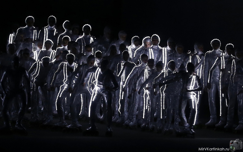 артисты на олимпиаде в Сочи