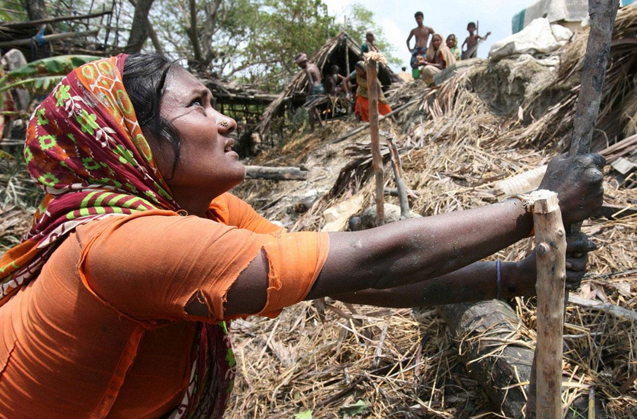 последствия от циклона Айла