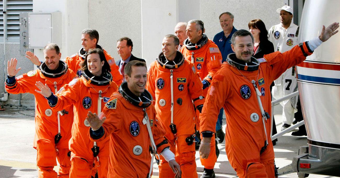 Экипаж шаттла Атлантис, фото