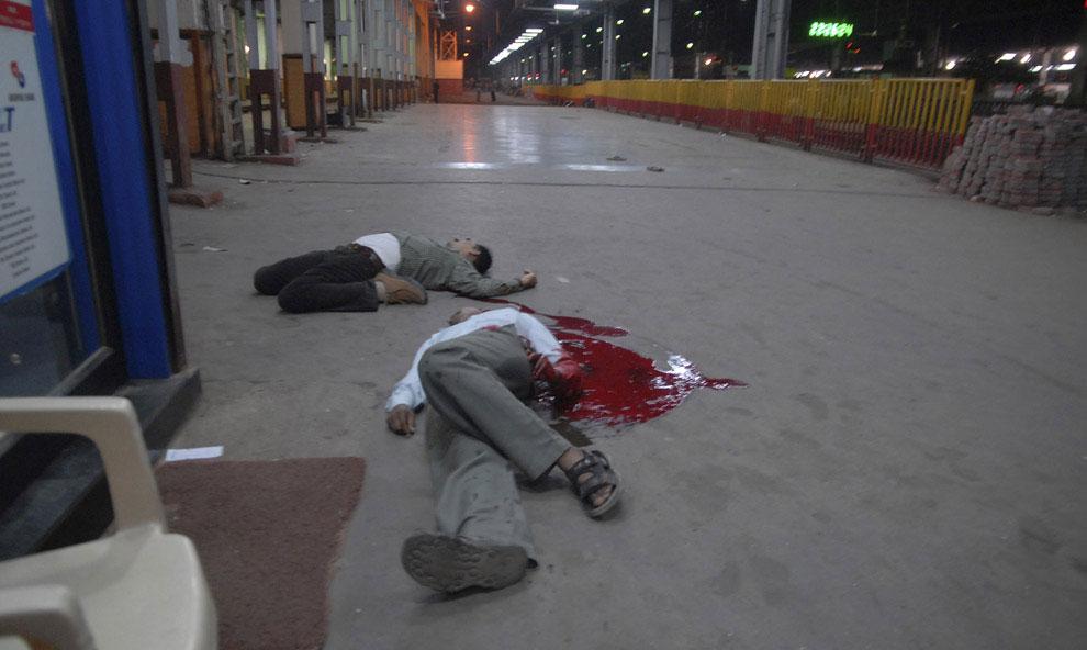 железнодорожный вокзал в Мумбаи, фото
