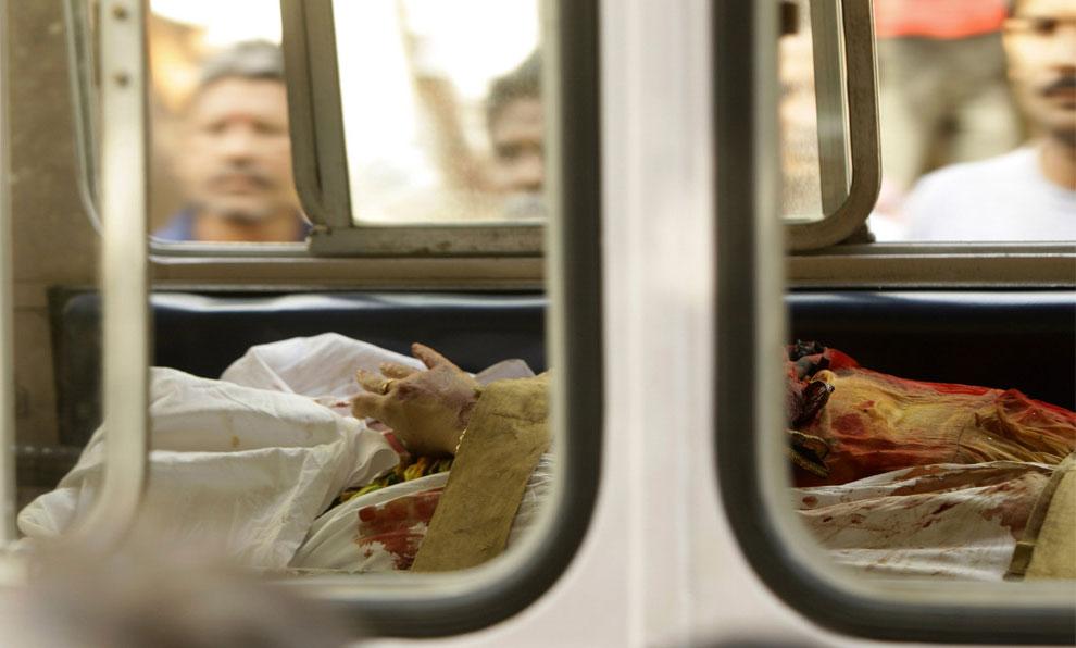террористические атаки в Мумбаи, Индия, фото