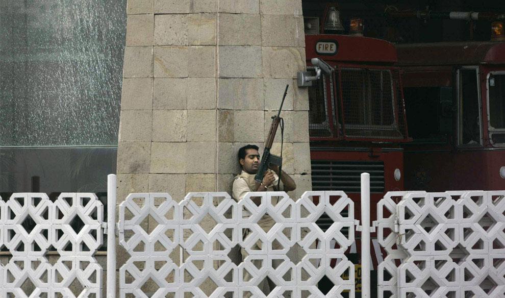 член антитеррористического отряда, Индия, фото
