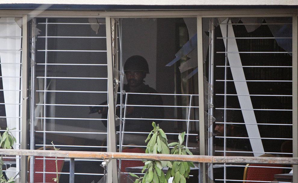Спецназ в Мумбаи, Индия, фото
