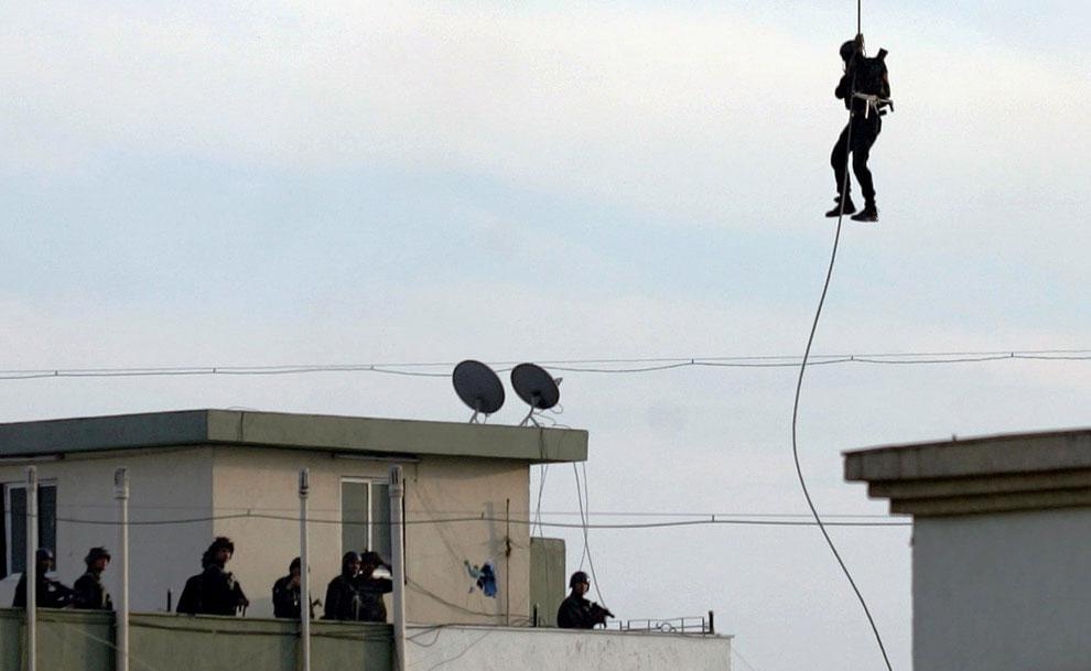 Индийский спецназ в Мумбаи, фото