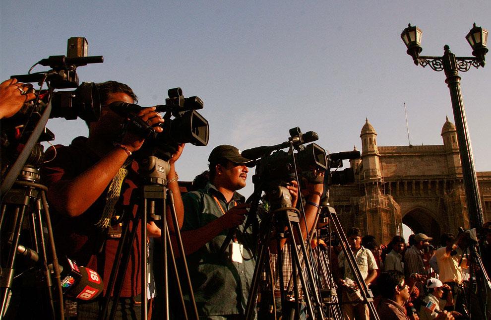 Средства массовой информации в Мумбаи, Индия, фото
