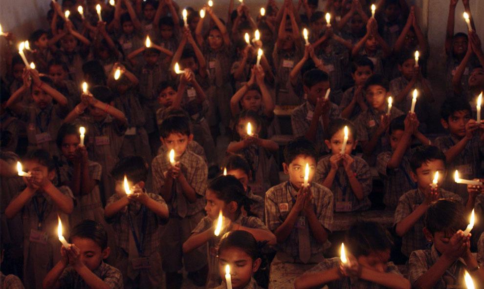 день памяти о жертвах Мумбаи, Индия, фото