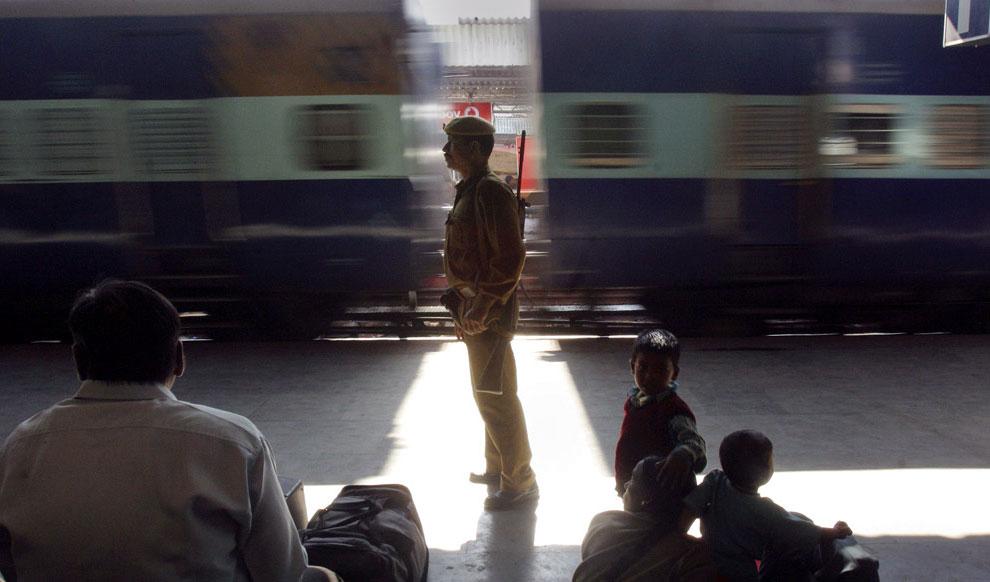 Сотрудник службы безопасности, Индия, фото