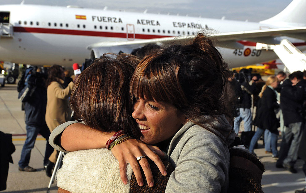 эвакуация иностранцев из Мумбаи в связи с терактами, Индия, фото