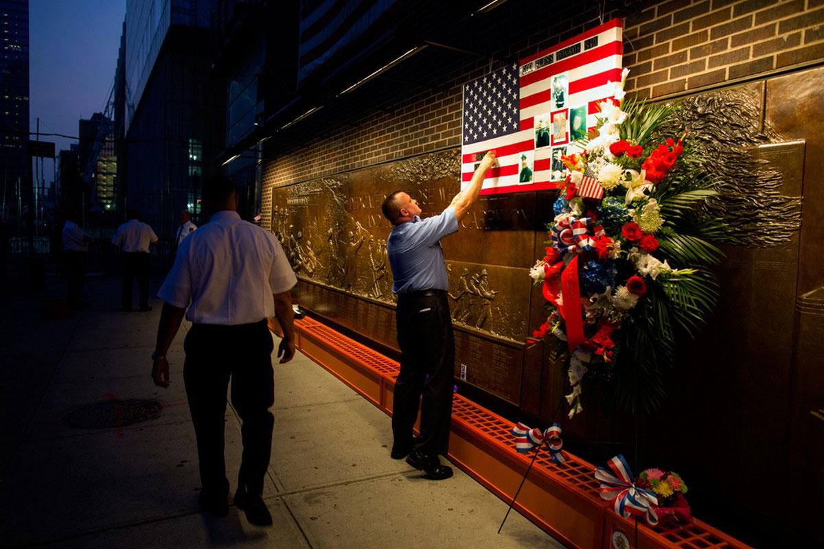мемориал в память о погибших пожарниках