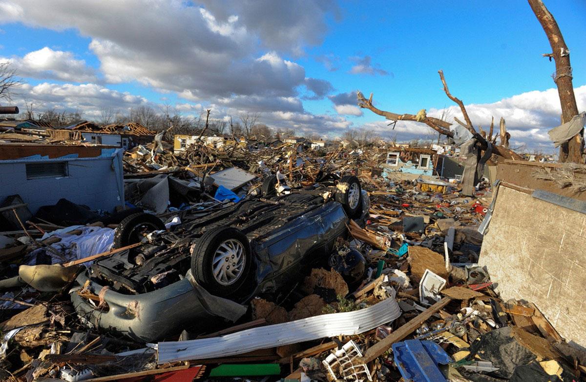 разруха после торнадо