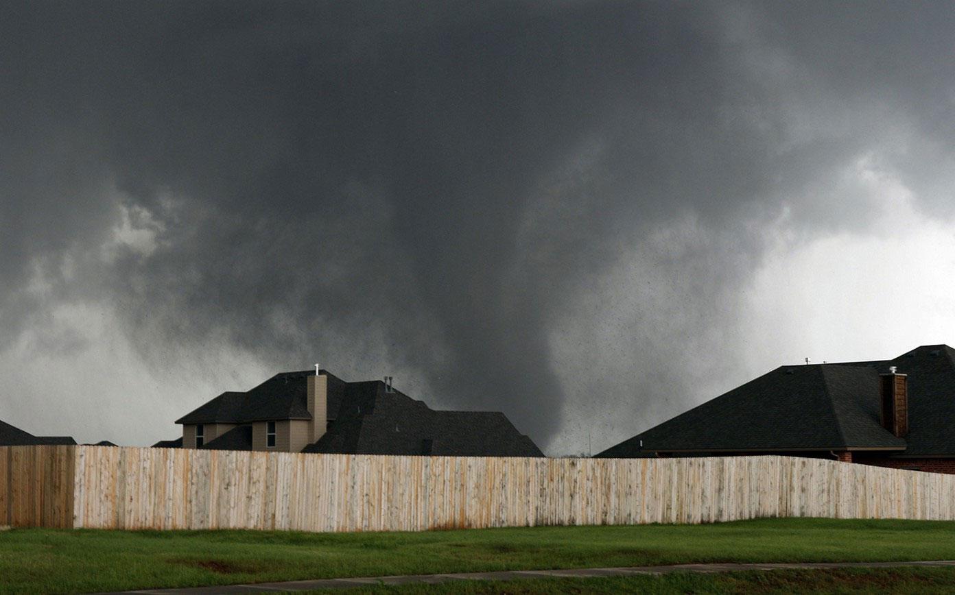 Сильнейший торнадо