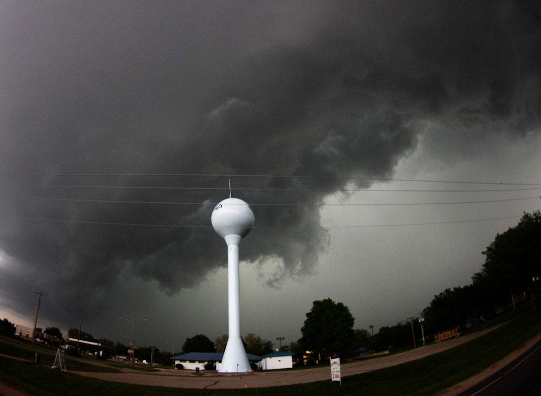 торнадо в Оклахома-сити