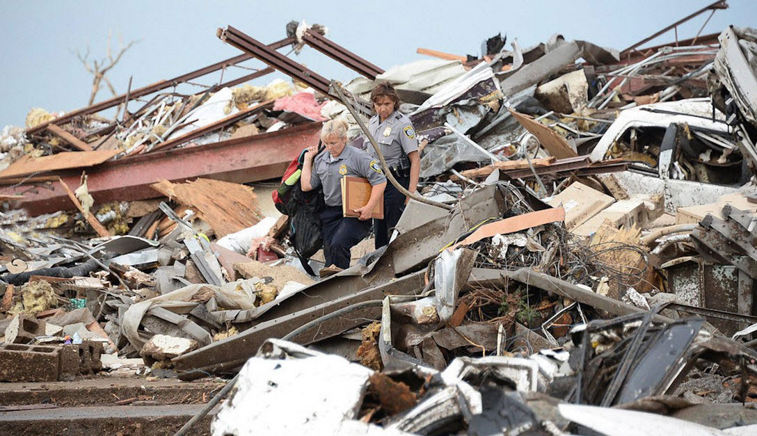 разрушенный дома
