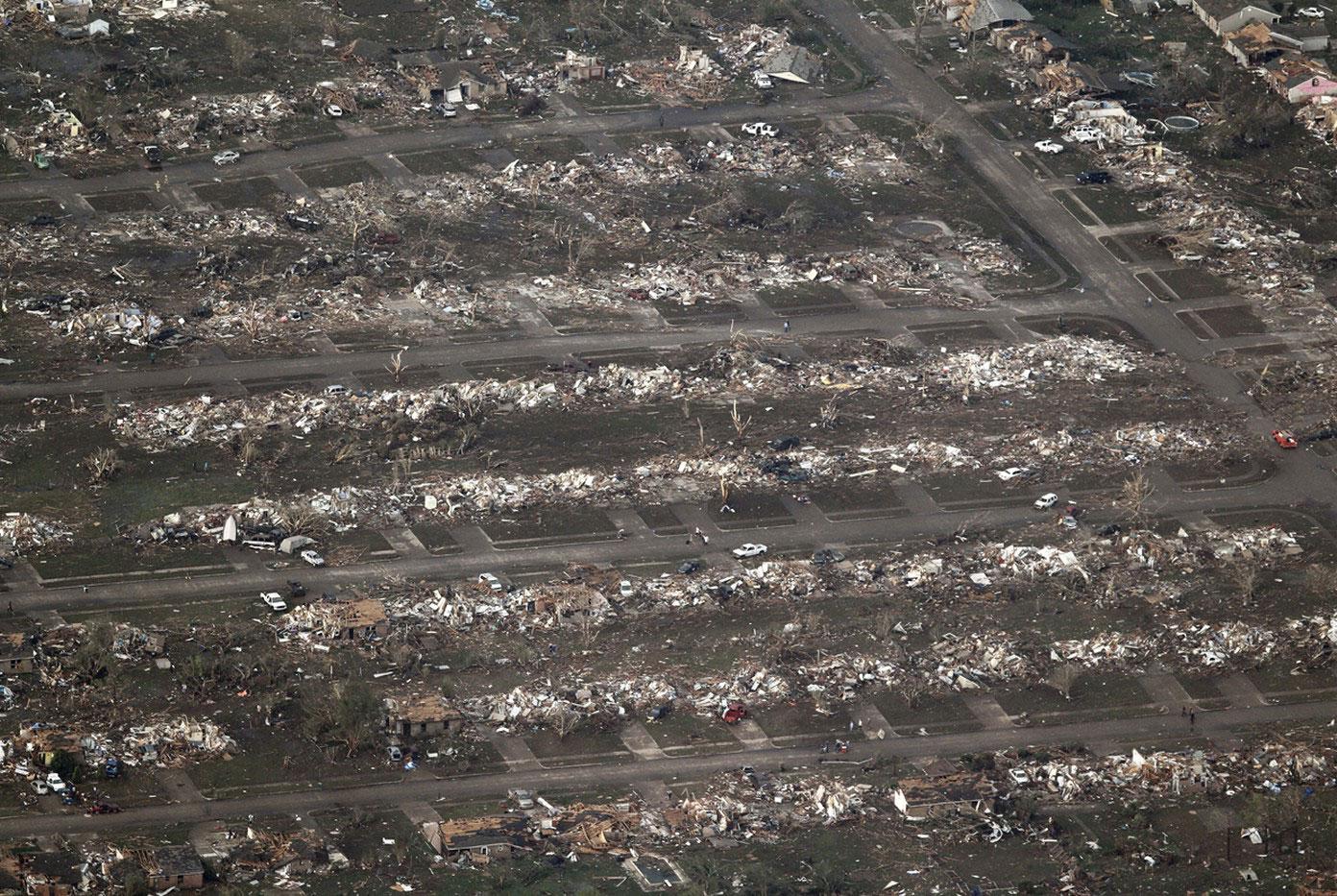разыгравшаяся стихия в Оклахоме