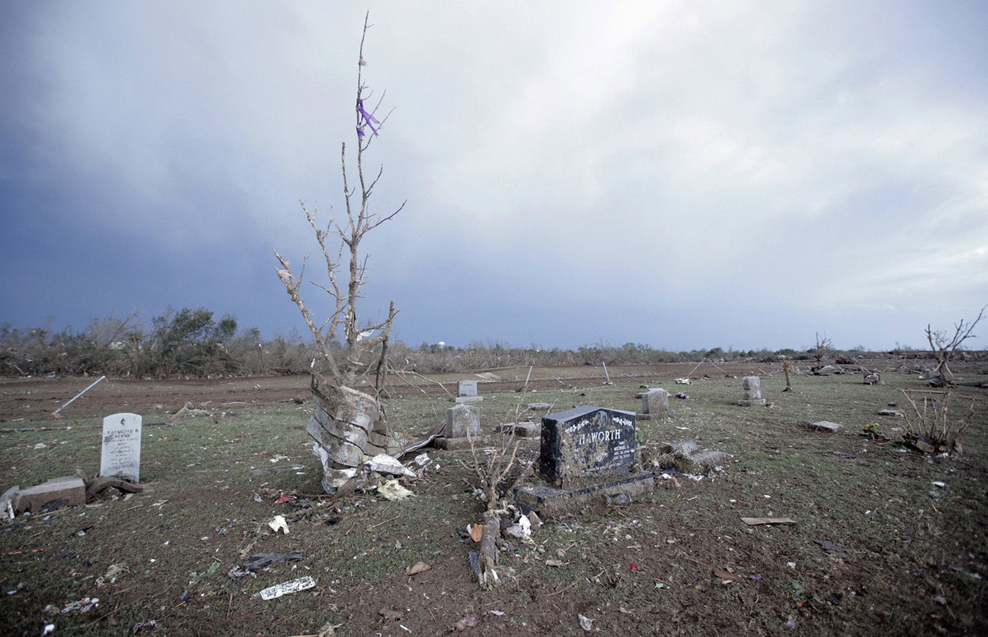 кладбище в США