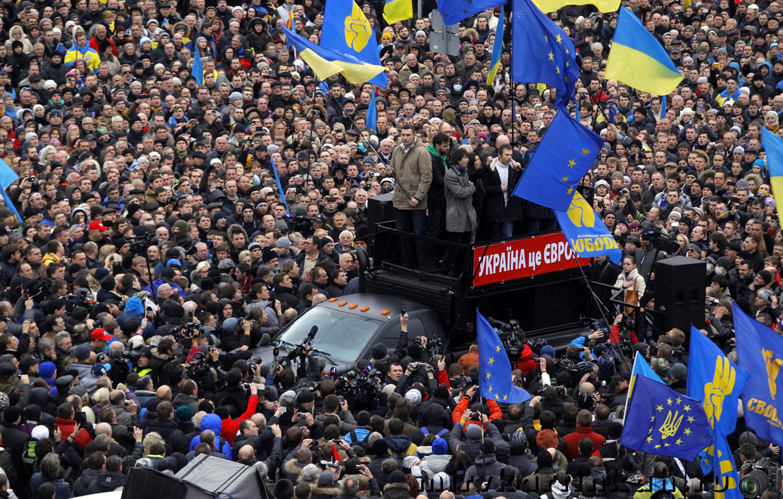 Виталий Кличко на платформе