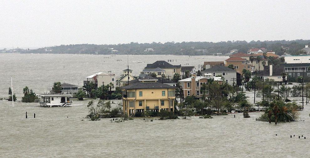ураган Айк, США, фото