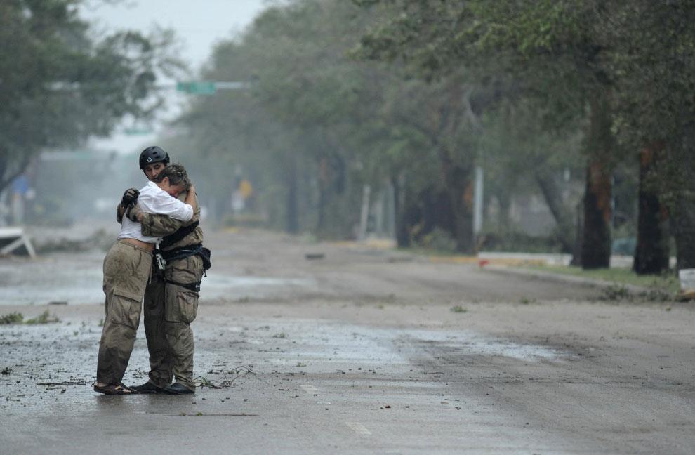 поисково-спасательная операция в штате Техас, США, фото