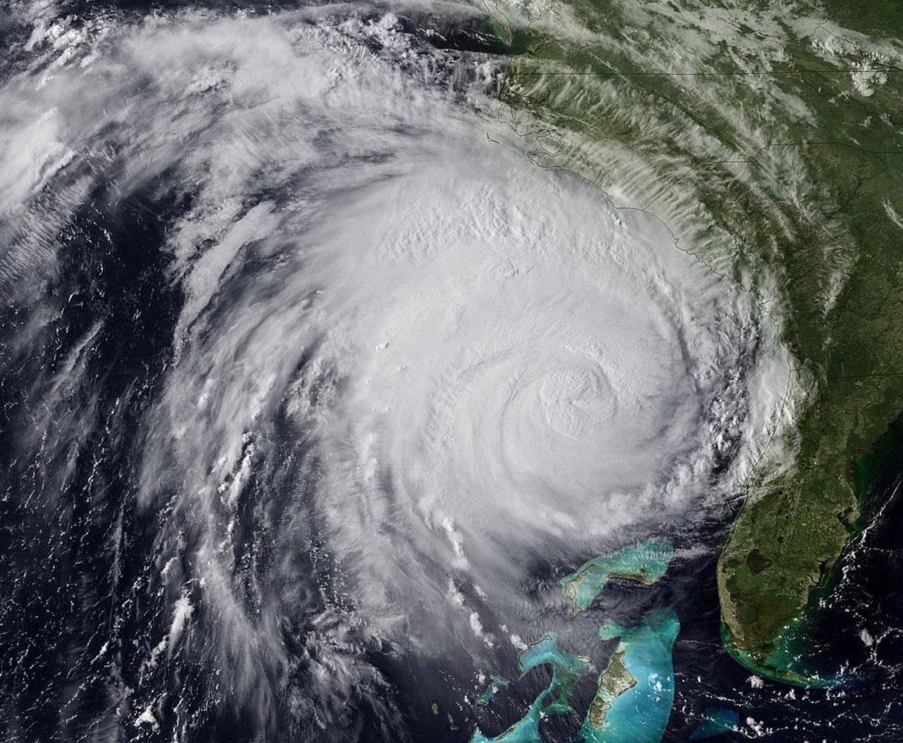 циклон из космоса