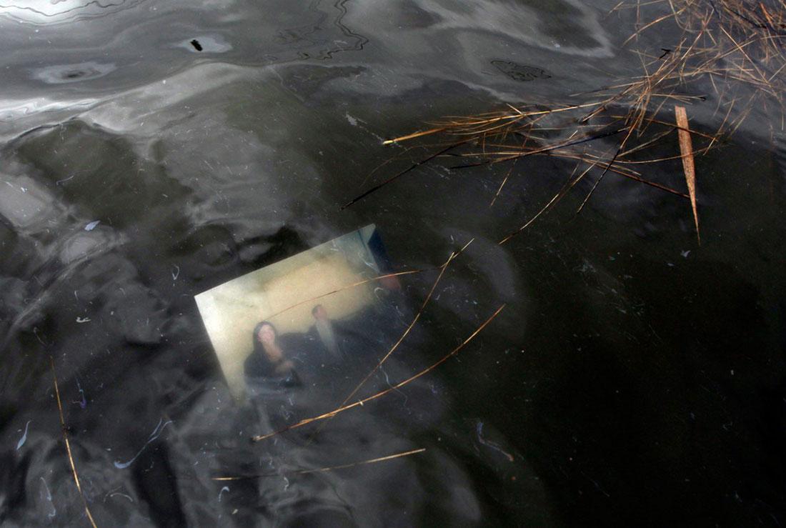 наводнение на улицах, фото урагана Сэнди в Нью-Йорке