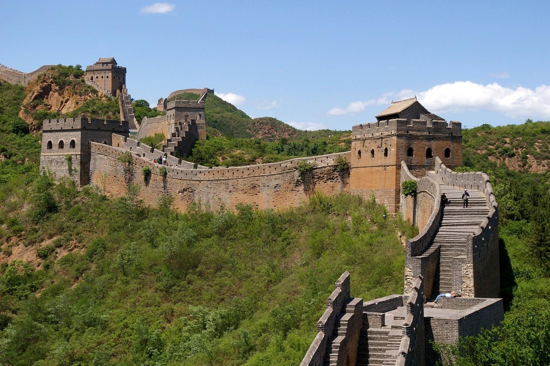 разрушения архитектурного памятника Китая, фото
