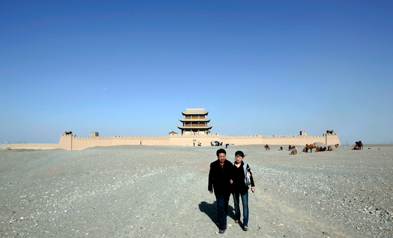 западная часть Великой китайской стены, фото