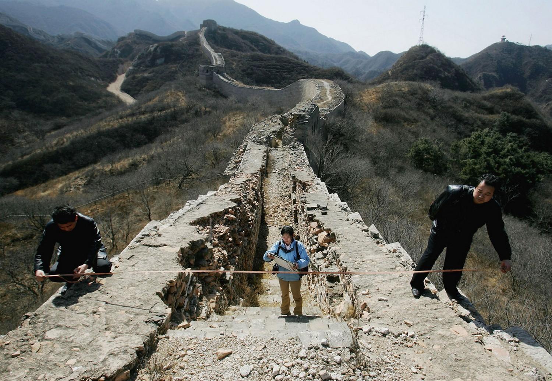 измерение китайской стены, фото