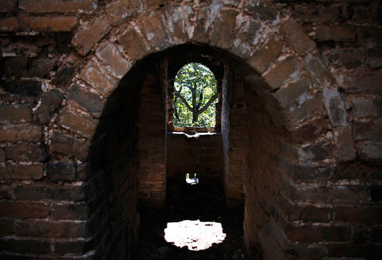 арка сторожевой башни, фото