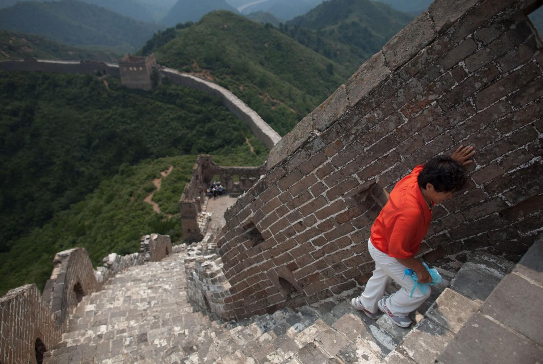 ступеньки на великую китайскую башню