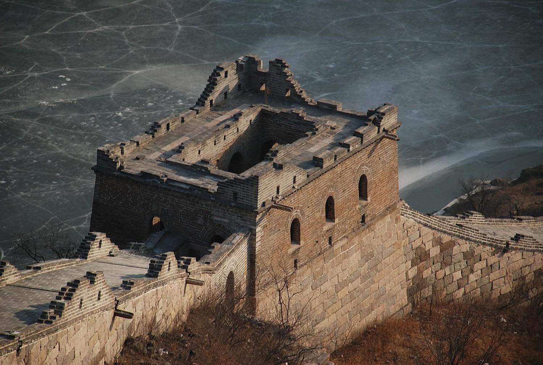 Часть Великой стены Пекина