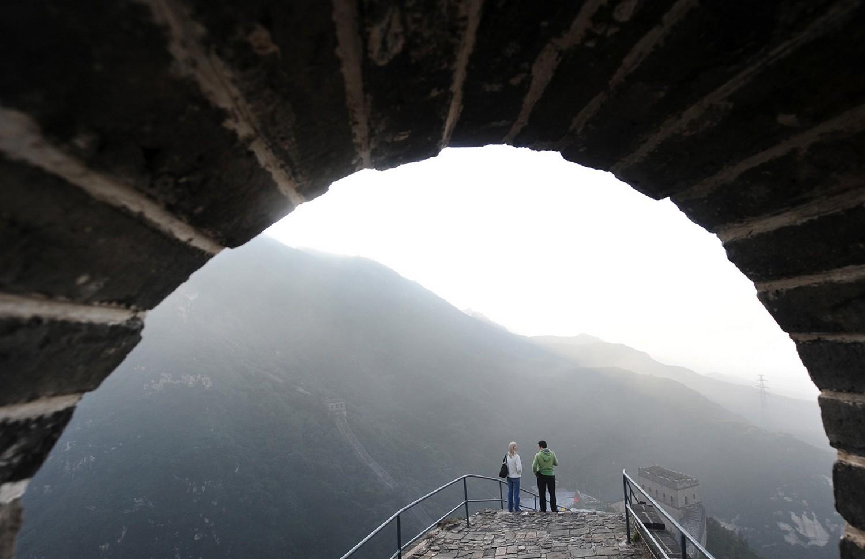 горы с высоты сторожевой башни, фото