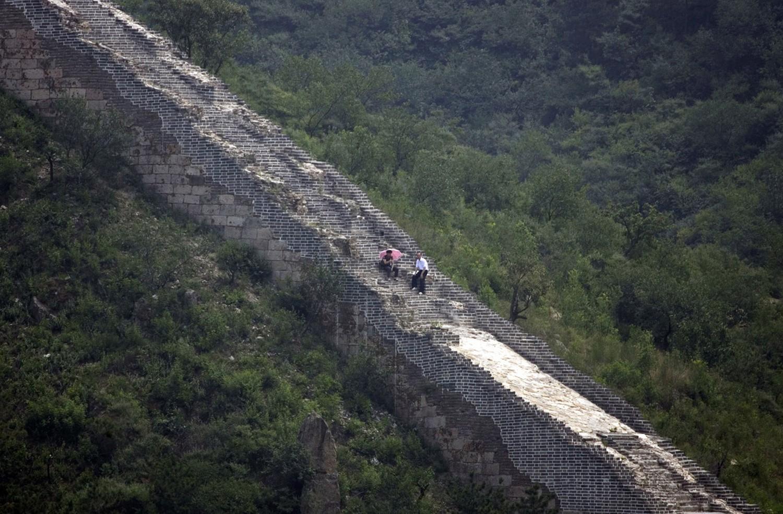 Великая китайская стена много лет спустя, фото