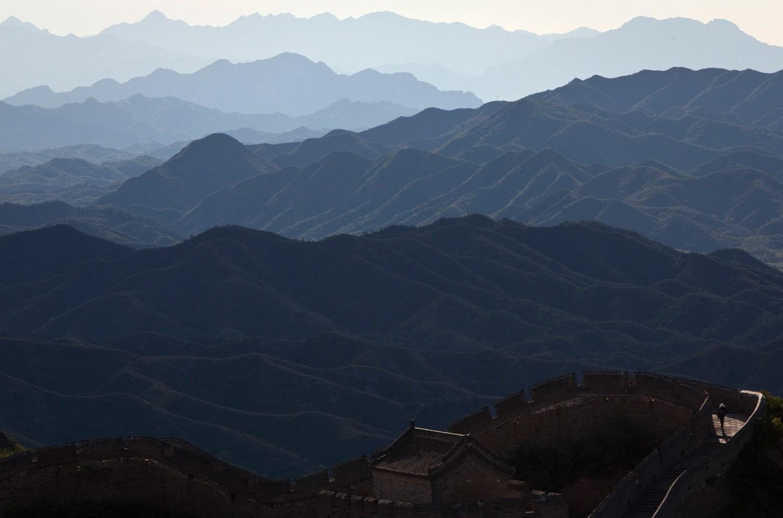Туристические прогулки по великой китайской стене