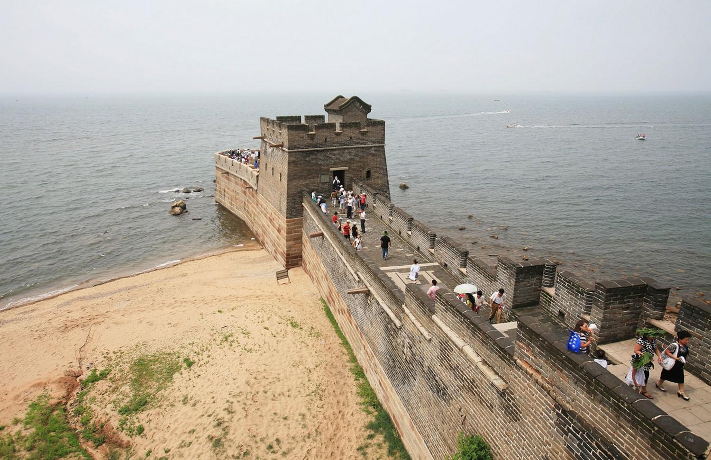 часть Великой Китайской стены конца династии Мин
