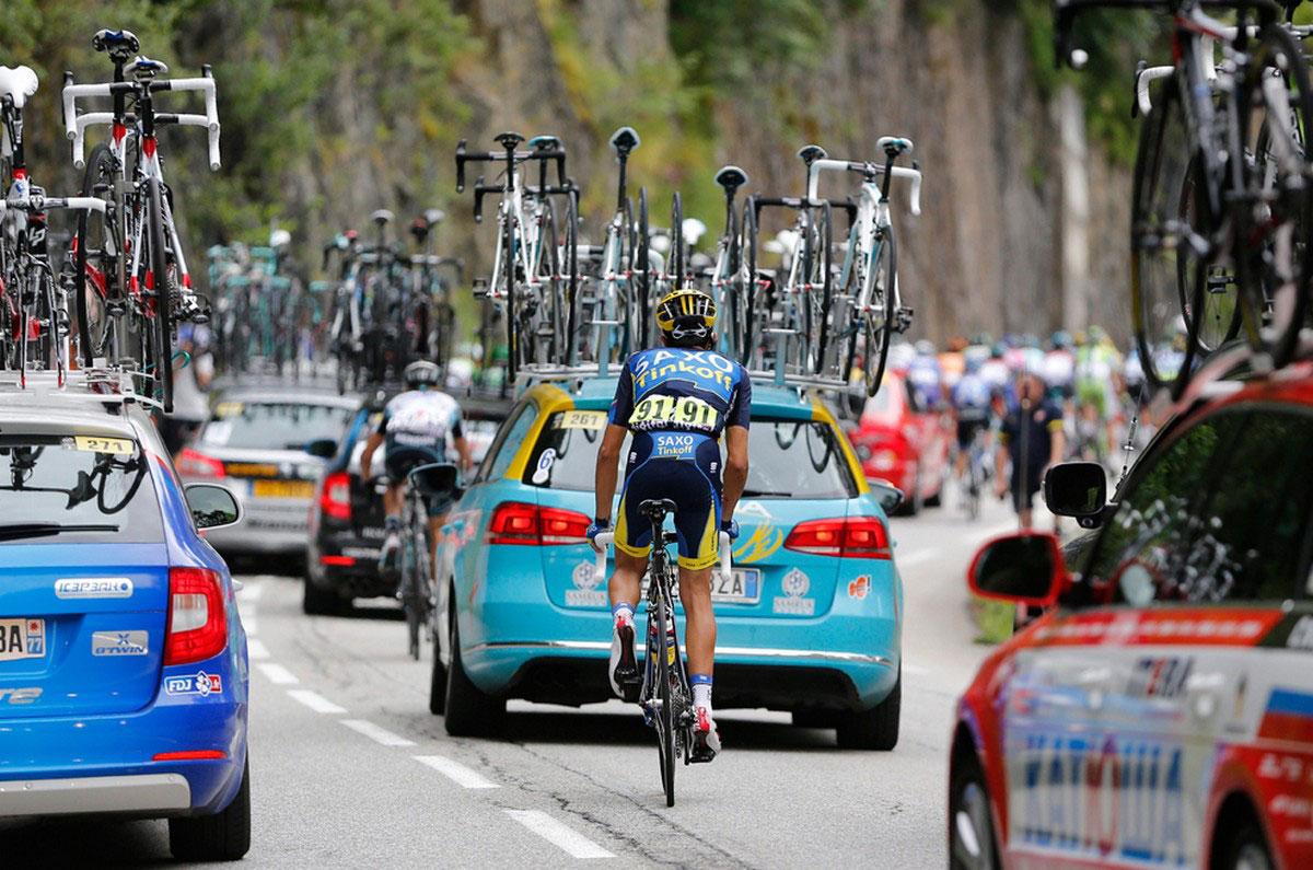 велогонщик Альберто Контадор