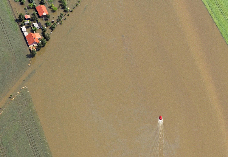наводнение в немецком городе