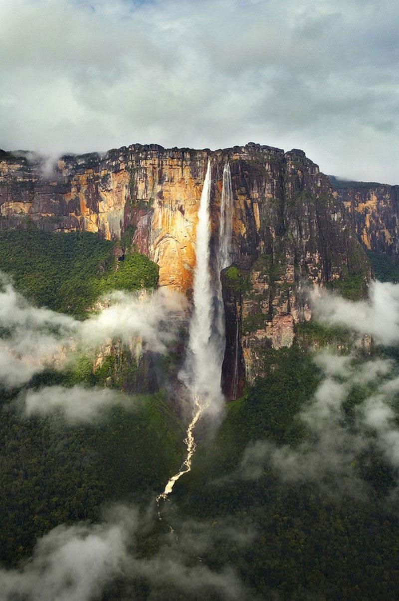 обрушение водопада