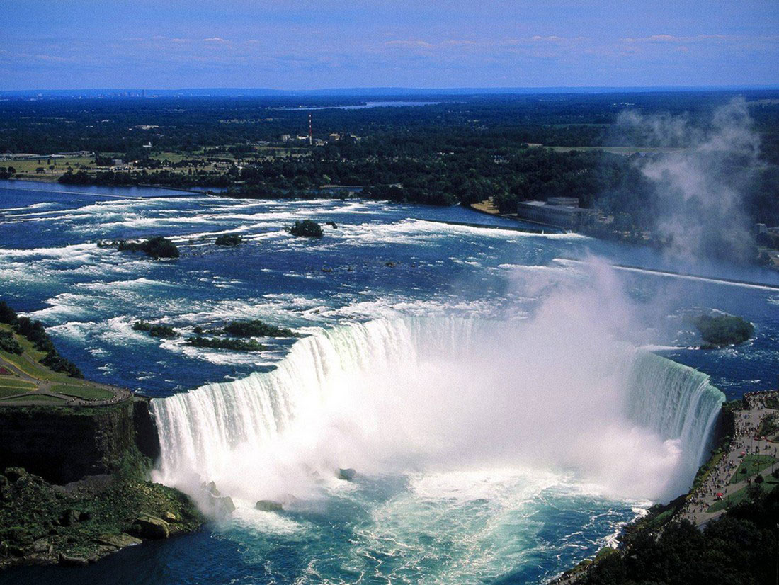 Ниагарский водопад с канадского берега